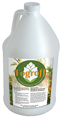 One Gallon Bottle of Fogroff